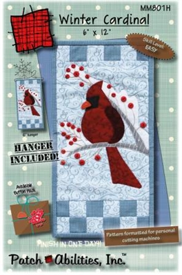 Winter Cardinal with Hanger