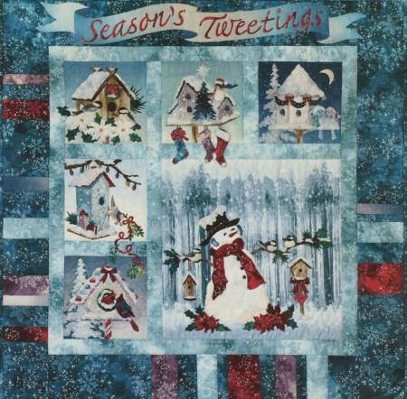Seasons Tweetings Quilt Pattern Bom Set By Mckenna Ryan