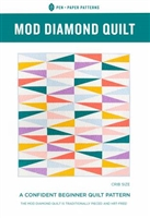 Mod Diamond Quilt Pattern by Pen & Paper Patterns