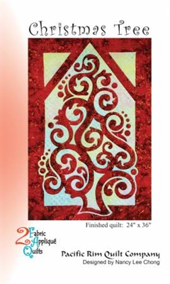 Christmas Tree  Applique Quilt Pattern