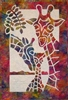 Giraffe Family Applique Quilt Pattern