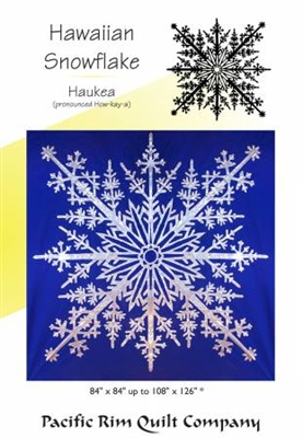 Hawaiian Snowflake Bed Quilt Pattern