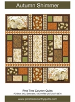 Autumn Shimmer Quilt Pattern by Pine Tree Country Quilts