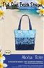 ALOHA Tote Pattern by Pink Sand Beach Designs