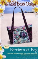 Brentwood Bag Quilt Pattern by Pink Sand Beach Designs