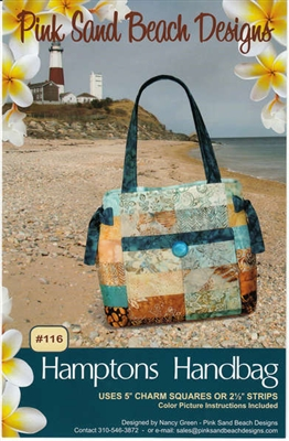 Hamptons Bag Quilt Pattern by Pink Sand Beach Designs