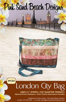 London City Bag Quilt Pattern by Pink Sand Beach Designs