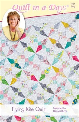 Flying Kite Quilt Pattern by Quilt In A Day