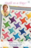 Milky Way Quilt Pattern by Quilt In A Day