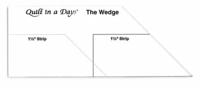 QID WEDGE RULER by Eleanor Burns Quilt In A Day