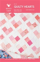 Quilty Hearts Quilt Pattern by Quilty Love