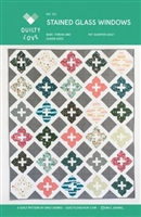 Stained Glass Quilt Pattern by Quilty Love