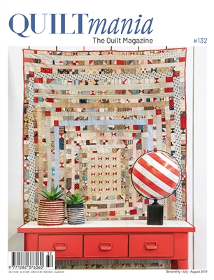 QUILTMANIA Magazine No. 132