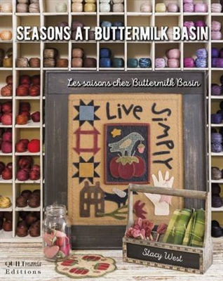 QUILTMANIA: SEASONS AT BUTTERMILK BASINE
