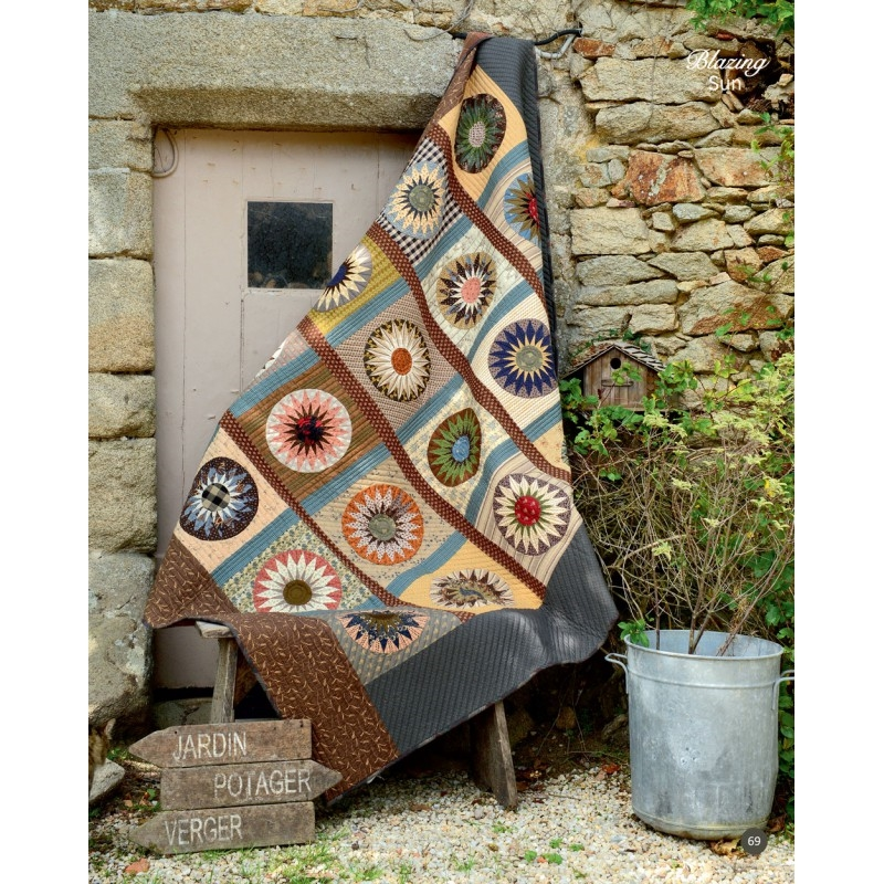Quiltmania Scrap Valley By Yoko Saito Features Stunning