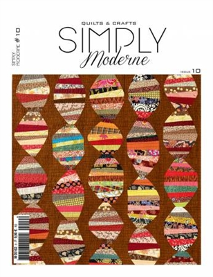 QUILTMANIA: Simply Moderne Issue No. 10