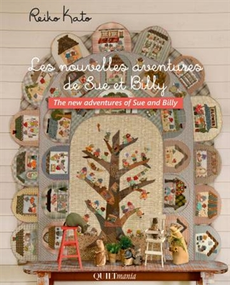 Quiltmania: The New Adventures of Sue and Bill from Reiko Kato