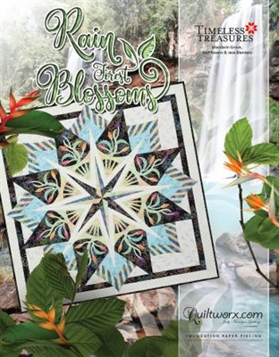 Rain Forest Blossoms Quilt Pattern by Judy Niemeyer