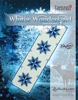 Winter Wonderland Table Runner Quilt Pattern by Judy Niemeyer