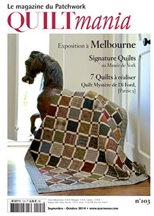 Quiltmania Magazine Issue 103 (Di-Ford Mystery #5)