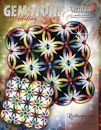 Wedding Star Quilt Pattern By Quiltworx