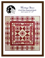 Heritage Stars Quilt Pattern by Red Crinoline