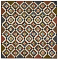 Hanover Stars Quilt Pattern by Red Crinoline Quilts