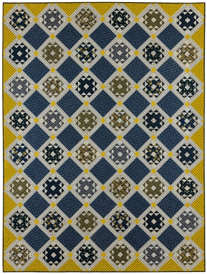 Laura's Quilt Pattern by Red Crinoline Quilts