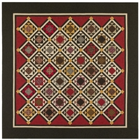 Soldier's Waltz Quilt Pattern by Red Crinoline Quilts