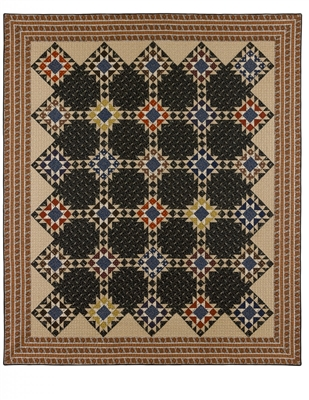 Tanner Legacy Quilt Pattern by Red Crinoline Quilts