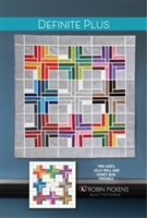 Definite Plus Quilt Pattern from Robin Pickens
