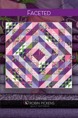 Faceted Quilt Pattern from Robin Pickens