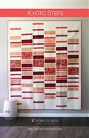 Kyoto Steps Quilt Pattern from Robin Pickens