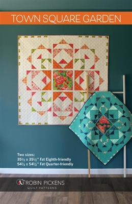 Town Square Garden Quilt Pattern from Robin Pickens