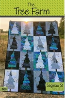 Tree Farm Quilt Pattern by Saginaw St. Quilt Co.