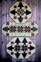 Winter Stars Table Quilt Patterns from Suzanne's Art House