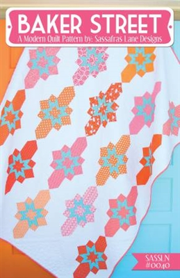 Baker Street Quilt Pattern by Sassafras Lane Designs