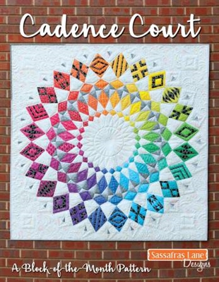 Cadence Court Quilt Pattern from Sassafras Lane Designs