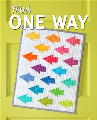 Mini One Way Quilt Pattern by Sassafras Lane Designs