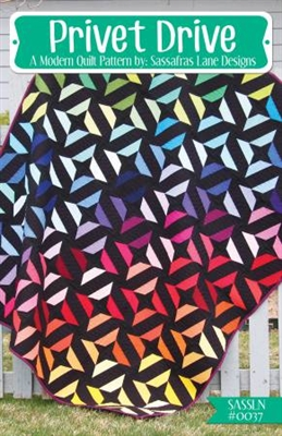 Pivot Drive Quilt Pattern by Sassafras Lane Designs