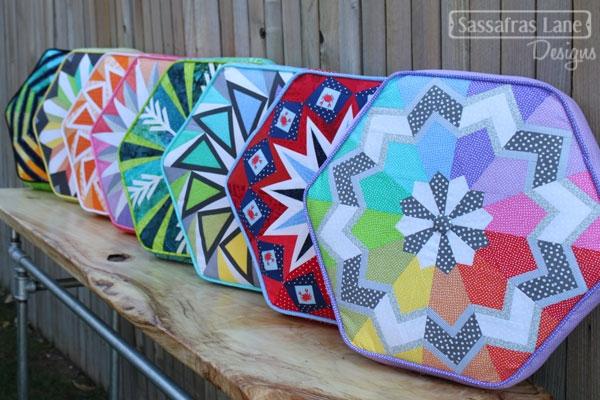 Arcadia Avenue hexagonal paper pieced quilt pattern : arcadia quilt pattern - Adamdwight.com