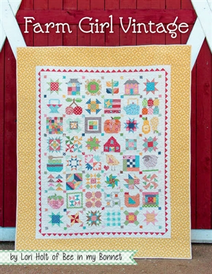 Farm Girl Vintage Quilt book From It's Sew Emma