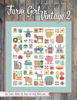Farm Girl Vintage 2 Quilt book From It's Sew Emma