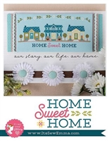 Home Sweet Home Cross Stitch Pattern Book from It's Sew Emma