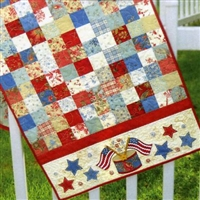 American Glory Table Runner Pattern by Shabby Fabrics