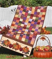 Bountiful Harvest Table Runner Quilt Pattern  by Shabby Fabrics