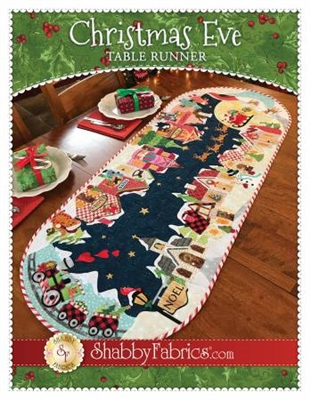 Christmas Eve Table Runner from Shabby Fabrics