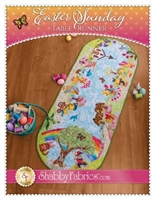 Easter Sunday Table Runner Pattern by Shabby Fabrics