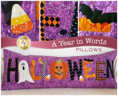 LAST ONE: A YEAR IN WORDS: HALLOWEEN PILLOW PATTERN