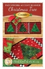 Patchwork Accents Table Runner December Christmas Trees by Shabby Fabrics